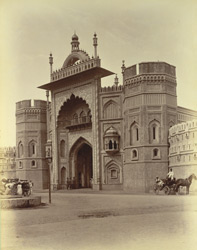 Wright Gate, Fort, [Rampur]